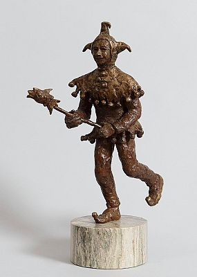 Maura Earley, The Jester at Morgan O'Driscoll Art Auctions