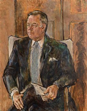 Derek Hill, Former US Embassador at Morgan O'Driscoll Art Auctions