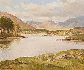 Maurice Canning Wilks, Lough Derryclare, Connemara at Morgan O'Driscoll Art Auctions