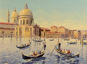 Ivan Sutton, The Grand Canal, Venice at Morgan O'Driscoll Art Auctions