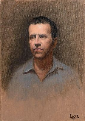 Frances O'Toole, Study of a Gentleman at Morgan O'Driscoll Art Auctions