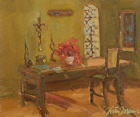 Liam Treacy, Still Life - The Dining Room at Morgan O'Driscoll Art Auctions