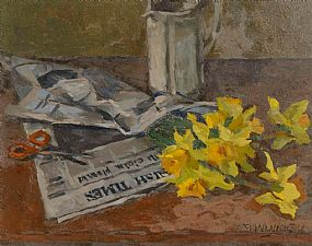 Desmond Hickey, Spring - Times at Morgan O'Driscoll Art Auctions