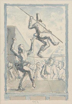 Stephen McKenna, Circus at Morgan O'Driscoll Art Auctions