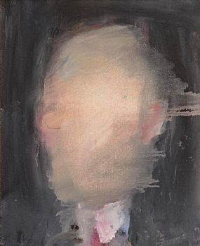 Basil Blackshaw, Study of a Head at Morgan O'Driscoll Art Auctions