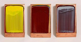 Ciaran Lennon, Yellow, Red and Blue Lens at Morgan O'Driscoll Art Auctions