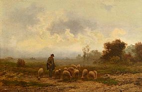 Herman Solbrig, The Good Shepard at Morgan O'Driscoll Art Auctions