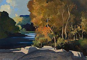 John Skelton Snr, Autumn, Annamoe River at Morgan O'Driscoll Art Auctions