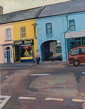 Hector McDonnell, Chip Shop at Morgan O'Driscoll Art Auctions