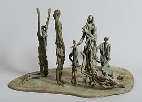 John Behan, Famine Group at Morgan O'Driscoll Art Auctions