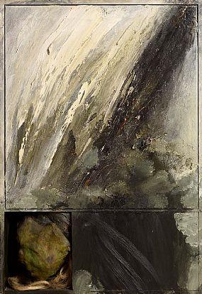 Hughie O'Donoghue, Fabric of Memory II (Study III) (1987) at Morgan O'Driscoll Art Auctions