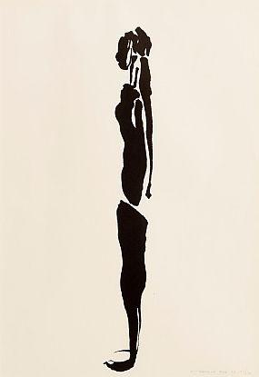 Louis Le Brocquy, Fedelm (1969) at Morgan O'Driscoll Art Auctions