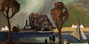 Markey Robinson, Shawlies by the Quay at Morgan O'Driscoll Art Auctions
