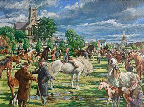 Roy Lyndsay, Ballinasloe at Morgan O'Driscoll Art Auctions