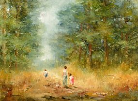 Elizabeth Brophy, The Forest Path at Morgan O'Driscoll Art Auctions