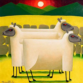 Graham Knuttel, Ewe Three at Morgan O'Driscoll Art Auctions
