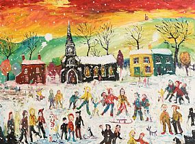 Simeon Stafford, More Snow to Come at Morgan O'Driscoll Art Auctions