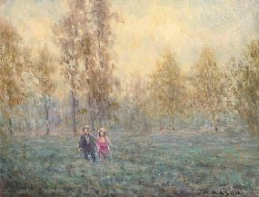 William Mason, Strolling at Morgan O'Driscoll Art Auctions