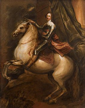 after Sir Anthony Van Dyck, Le Prince Thomas De Savoie Carignano at Morgan O'Driscoll Art Auctions