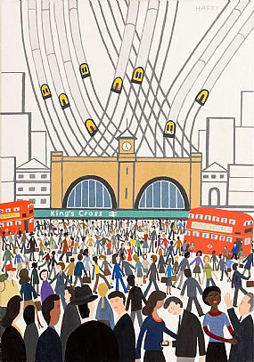 Robert Hardy, Kings Cross (2013) at Morgan O'Driscoll Art Auctions