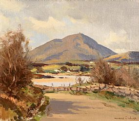 Maurice Canning Wilks, Muckish Mountain, Creeslough, Co. Donegal at Morgan O'Driscoll Art Auctions