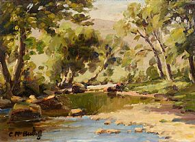 Charles J. McAuley, River Dun, Co. Antrim at Morgan O'Driscoll Art Auctions
