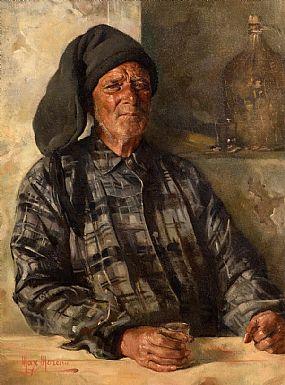 Max Leon Moreau, Pecheur avec une Boisson at Morgan O'Driscoll Art Auctions