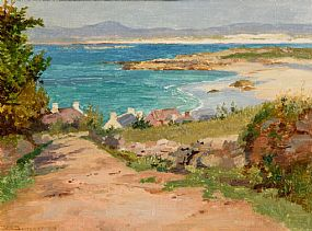 William Henry Bartlett, Dog Bay, Donegal (1910) at Morgan O'Driscoll Art Auctions