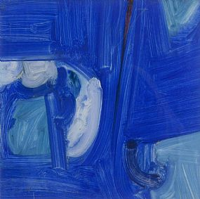 Bob Crossley, Head with Ultramarine II (1965) at Morgan O'Driscoll Art Auctions