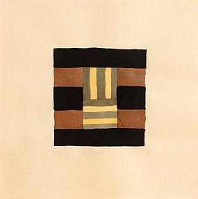 Sean Scully, Yellow Light (1992) at Morgan O'Driscoll Art Auctions