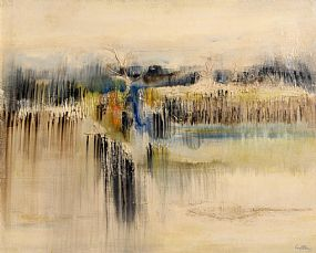 Richard Kingston, Marsh Landscape (1965) at Morgan O'Driscoll Art Auctions