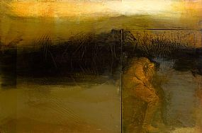 Hughie O'Donoghue, Far Country (2005) at Morgan O'Driscoll Art Auctions