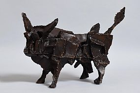 John Behan, Weld Bull at Morgan O'Driscoll Art Auctions