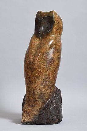 Anna Linnane, Large Owl at Morgan O'Driscoll Art Auctions