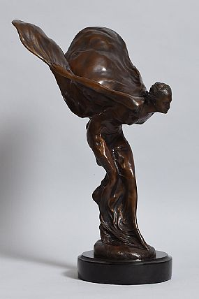 after Charles Robinson Sykes, Spirit of Ecstasy at Morgan O'Driscoll Art Auctions