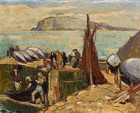 Marjorie Henry, Blasket Islands at Morgan O'Driscoll Art Auctions