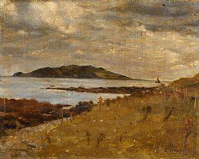 Leo Whelan, Lambay Island at Morgan O'Driscoll Art Auctions