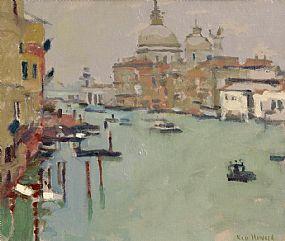Ken Howard, La Salute, Venice (2008) at Morgan O'Driscoll Art Auctions