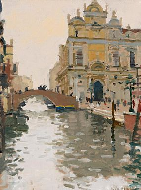 Ken Howard, The Ospidale S. Giovanni & Paolo, Venice (2010) at Morgan O'Driscoll Art Auctions