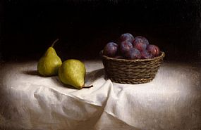 Conor Walton, Plums and Pears (2006) at Morgan O'Driscoll Art Auctions