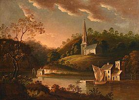 19th Century Irish School, View of Glanmire, Co Cork at Morgan O'Driscoll Art Auctions