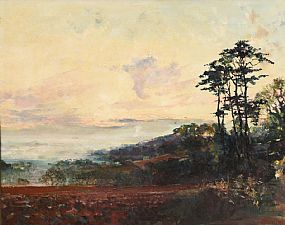 Arthur K. Maderson, Early Morning Landscape at Morgan O'Driscoll Art Auctions