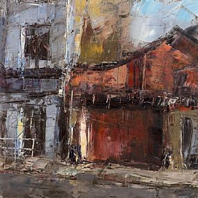 Aidan Bradley, Garage, Bakery Gate at Morgan O'Driscoll Art Auctions