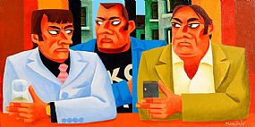 Graham Knuttel, The Look at Morgan O'Driscoll Art Auctions