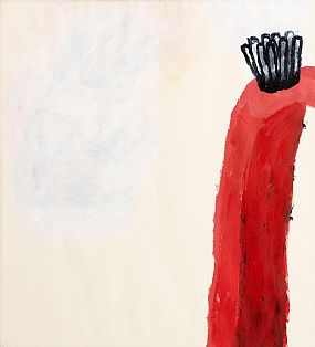 Alice Maher, Red Arch / Archway (1995) at Morgan O'Driscoll Art Auctions