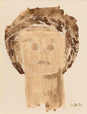 Patrick Scott, Gilded Youth (1959) at Morgan O'Driscoll Art Auctions