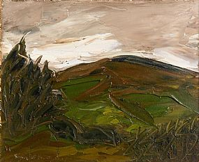 Sean McSweeney, Wicklow Landscape (1980) at Morgan O'Driscoll Art Auctions