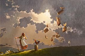 Jimmy Lawlor, Home to Roost at Morgan O'Driscoll Art Auctions