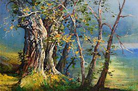 Kenneth Webb, Autumn Mist at Morgan O'Driscoll Art Auctions