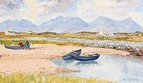 Fergus O'Ryan, Near Roundstone, Connemara at Morgan O'Driscoll Art Auctions